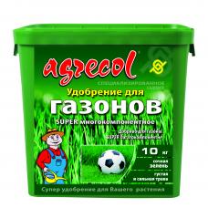 Добриво для газонів супер багатокомпонентне Agrecol 10 кг