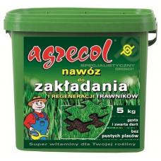 Удобрение для закладки и регенерации газонов  Agrecol 5 кг