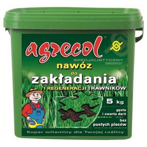 Добриво для закладки і регенерації газонів Agrecol 10 кг