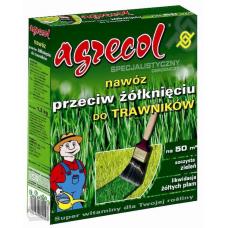 Удобрение для газонов против пожелтения листьев Agrecol  5 кг