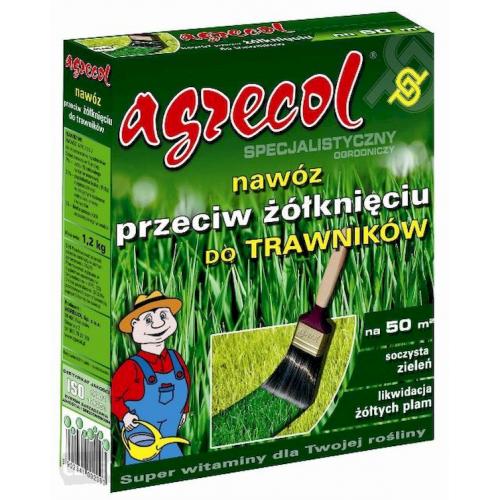 Удобрение для газонов против пожелтения листьев Agrecol 10 кг
