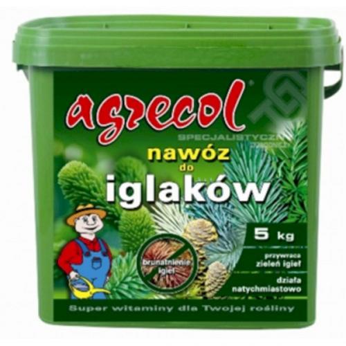 Добриво від пожовтіння хвої Agrecol 10 кг