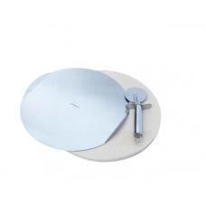 Камінь для піци 33 см з ножем і сталевим підносом 31 см GrandHall
