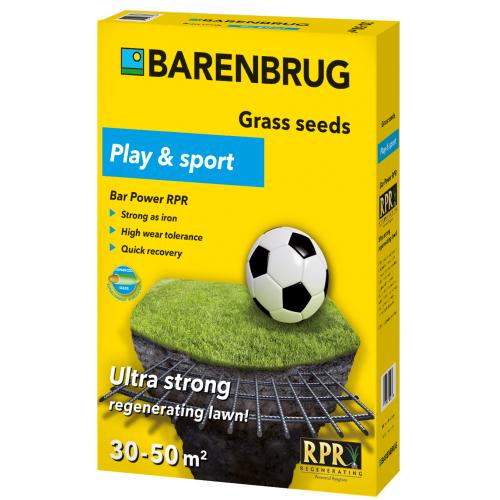 Газонна трава Barenbrug Play and sport Спорт 1 кг
