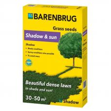 Газонна трава Barenbrug Shadow and Sun тінь і сонце 1 кг