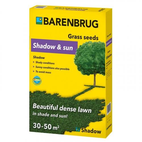 Газонная трава Barenbrug Shadow and Sun тень и солнце 1 кг
