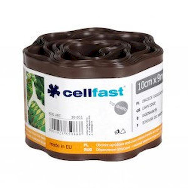 Газонні бордюр Cellfast коричневий 10 см * 9 м Польща