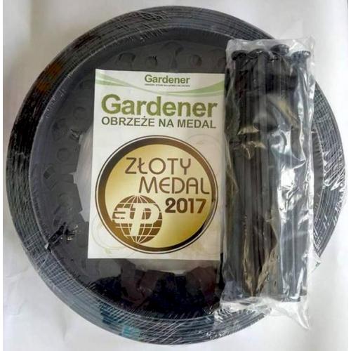 Бордюр GARDENER 10 м + 20 колышков Польша