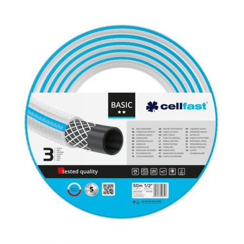"""Садовый шланг Cellfast Basic 1/2"""" 50м (10-402)"""
