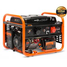 Бензиновий електрогенератор Daewoo GDA 7500DPE-3 (дворежимний)