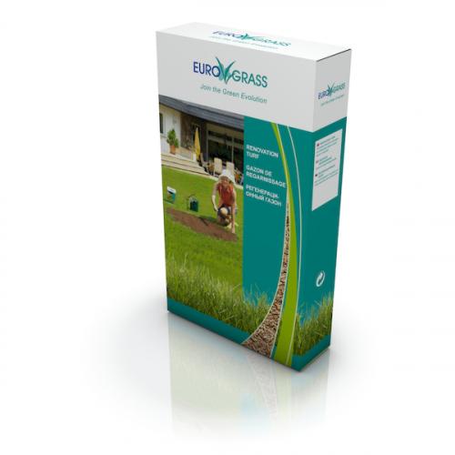 Газонная трава для регенерации и ремонта Euro Grass 1 кг