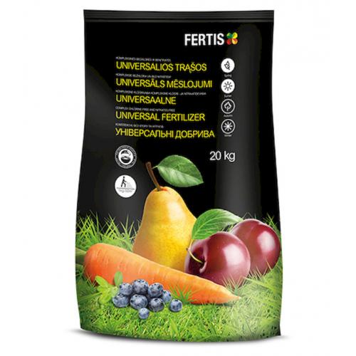 Удобрение комплексное универсальное без хлора и нитратов Arvi Fertis 20 кг