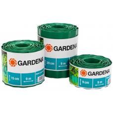 Бордюр садовый зеленый Gardena 9х15 см (00538-20)