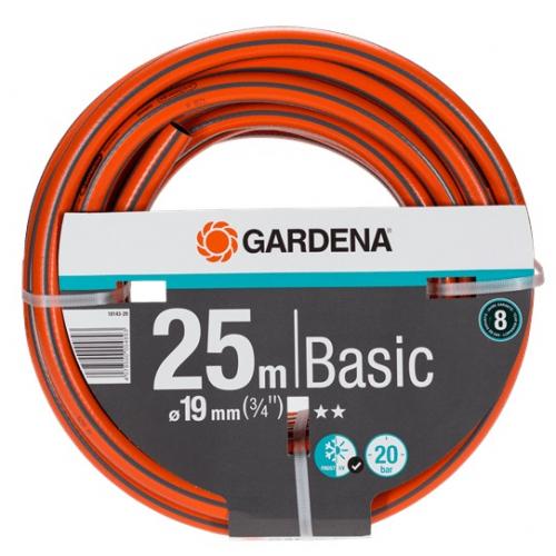 "Шланг Gardena Basic д.19 мм (3/4"") 25 м (18143-29.000.00)"
