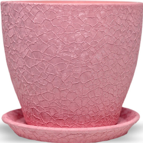 Горшок керамический Магнолия Розовая шелк 13*15*1,3