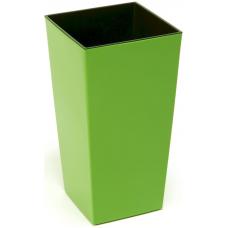 Горшок пластиковый Финезия с вкладкой Зеленый 140*140