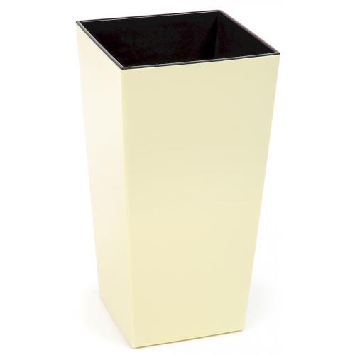 Горшок пластиковый Финезия с вкладкой Ваниль 140*140