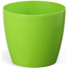 Горшок пластиковый Магнолия зеленый 250 мм