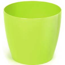 Горшок пластиковый Магнолия лимонный 300 мм