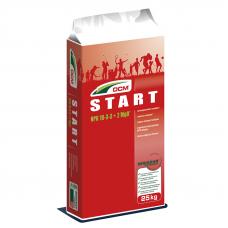 Добриво для газону Старт NPK 18-3-3 + 2 MgO DCM (Бельгія) 25 кг
