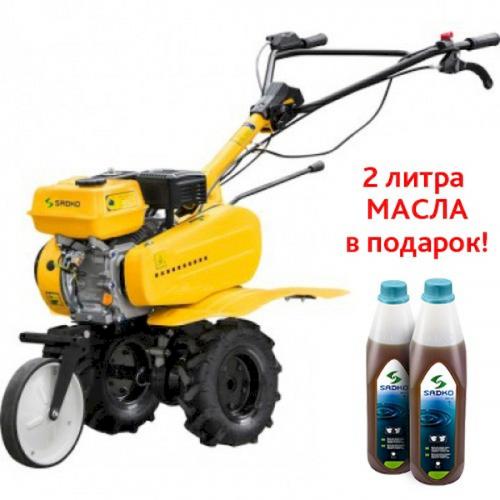 Мотоблок бензиновый M-500PRO Sadko