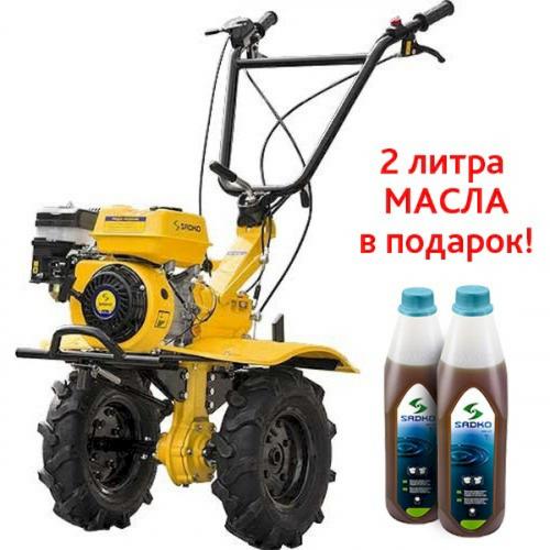 Мотоблок бензиновый M-900PRO Sadko