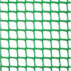 Сітка пластикова 'огорожа' яч. 50х50 мм, рул. 1х20 м (зелена)