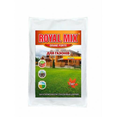 Добриво для газону осіннє Royal Mix Grane Forte 1 кг (пакет)