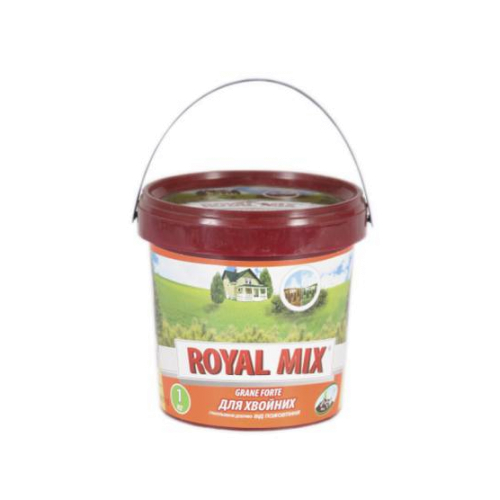 Удобрение для хвойных от пожелтения Royal Mix Grane Forte 3 кг
