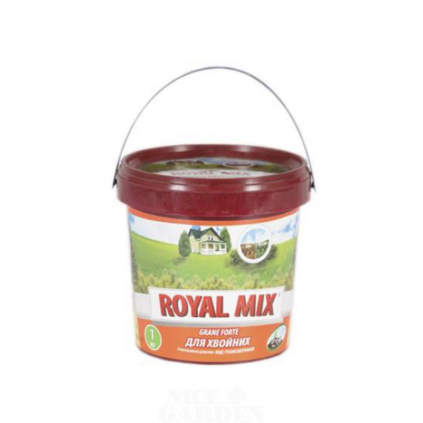 Добриво для хвойних від пожовтіння Royal Mix Grane Forte 1 кг