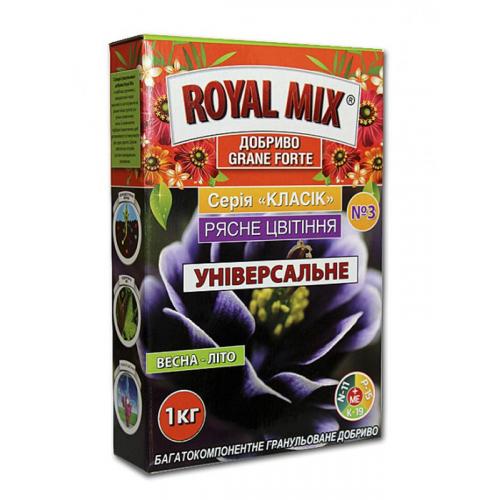 Удобрение для роз Royal Mix Grane Forte Обильное цветение 1 кг (коробка)