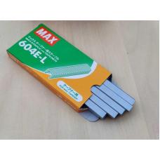 Скоби для степлера TAPENER MAX 4800 шт. ( 604E-L )