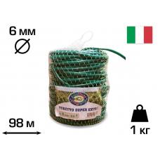 Агротрубка (кембрик) для підв'язки рослин, 6 мм, 1 кг, 98 м, SUPER EXTRA, CORDIOLI