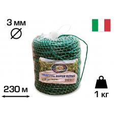 Агротрубка (кембрик) для підв'язки рослин, 3 мм, 1 кг, 230 м, SUPER EXTRA, CORDIOLI