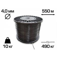Пластикова шпалерний дріт (Агрошпалера) Італія 4 мм (550 м)