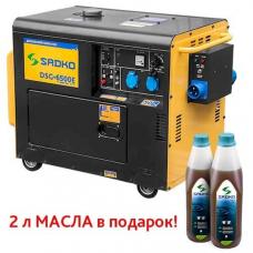 Генератор дизельный Sadko DSG-6500E ATS Sadko