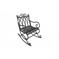 Кресло-качалка метал Mario Trezzini Лорензо 59х95х98 см (QG50)