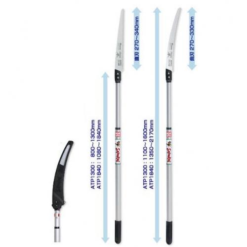 Пила Samurai з телескопічною ручкою ATP1840+GC331