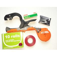 Набір садовий підвязочний плюс Степлер садовий + Скоби (4800 шт)+ Стрічки (10 шт)+ Запасний ніж