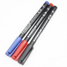 Маркер Staedtler Pancolor 303F чорний, червоний, синій, 0,6 мм