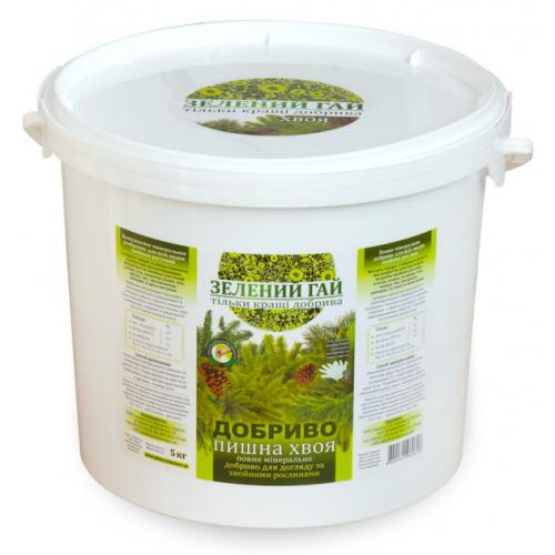 Удобрение Зеленый Гай для хвои 5 кг